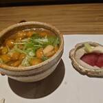 貴水 - 雑炊 漬物