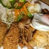 キッチン竹乃子 - 料理写真:カキフライ&生姜焼き