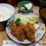 大衆割烹 三州屋 銀座店  - 三州屋 銀座店 かきフライ定食 1,300円