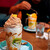 キャッツカフェ - みんなでジョッキのパフェを注文。