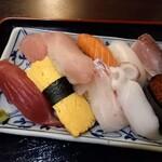 大衆酒場 ゑびす - にぎり寿司アップ