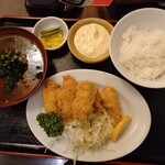 大衆酒場 ゑびす - 広島県産カキフライ定食