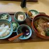 方六庵 - 料理写真:きしめん定食麺大盛750円