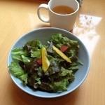 カフェ シュクル - スープ、サラダ