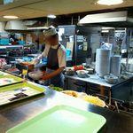 東京大学 中央食堂 - 厨房内