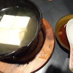 旬味酒菜 味らく亭 - 特製湯豆腐鍋