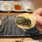 源MOTO - 2012.11.24)柚子味噌がのった生麩