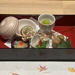 梅田 鮨 よこ田 - 前菜