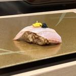 梅田 鮨 よこ田 - 太刀魚