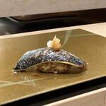 梅田 鮨 よこ田 - 秋刀魚