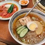 焼肉大同門 - 料理写真:冷麺セット