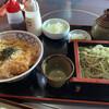 直志庵 さがの - 料理写真:そばとかつ丼膳 ¥2178
