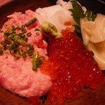 佐渡蔵 - 3色丼(普通盛り)