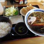 麺 和華 - 和華 「Cセット(ラーメン+餃子3個+ライス)」