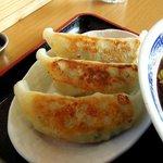 麺 和華 - 和華 「セットの餃子」