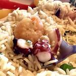 スプーンソング - 【小エビのプラオライス】小エビだけでなく、タコも入ってました!