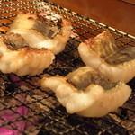 滋菜 さん三郎 - 穴子の一夜干しは卓上七輪で焼きます♪