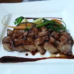 アコウキッチン - 天草豚のソテー