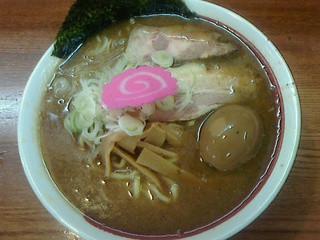 らー麺 たまや零式 - 味玉らー麺750円(平成24年11月実食)