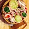 島大衆酒場 たけし写真館 - 料理写真:人気の野菜巻きがグレードアップしせいろ蒸しで新登場!あぐー豚(沖縄のブランド豚使用)
