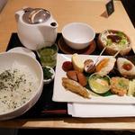 田頭茶舗 - ランチセット(1300円)