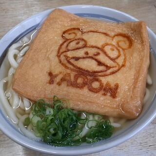 柳川 - 料理写真:ヤドンのうどん(小)