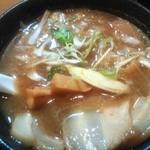 いるか - 超濃厚な豚骨魚介スープ