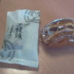 16014766 - 栗饅頭とワッフル