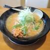 麺屋 花蔵 - 料理写真:鶏ごぼうラーメン(みそ味)