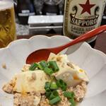 とんかつ 大希 - ピリ辛そぼろ豆腐