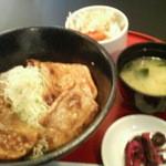 とんすけ - 豚丼セット(ロース)980円 2012/11