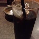 宮崎地鶏炭火焼 車 - ランチのアイスコーヒー