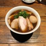 """松戸中華そば 富田食堂 - 料理写真:""""特製らぁ麺(醤油)""""1,230円♪"""