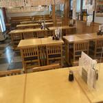 新横のまぐろや  - 店内テーブル