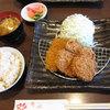 八尾 花 - 料理写真:ヒレカツ定食(¥1050)