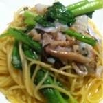 Tana-Capriccio - 鳥取産たらと小松菜のペペロンチーノ