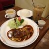 エーライセンス - 料理写真:ハンバーグライス・ドリンクセット1290円