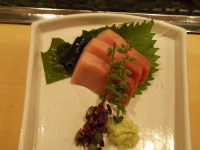 柳鮨 - 中トロ刺身