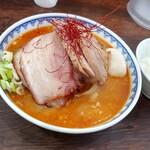 160220779 - 辛味噌・チャーシュー全&味玉増し