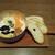 チーズとWINE - 料理写真:チーズ3種盛