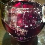 立呑み厨房 いち - 2012.11.20 かち割りワイン・赤250円