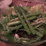 大和 笑う焼き鳥屋 ウルル - グリーンサラダ