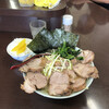 ラーメンショップ - 料理写真:ネギチャーシュー麺、小ライス