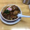 """かし亀 - 料理写真:""""生姜醤油チャーシュー麺(醤油)""""1,100円に""""味付けゆで卵""""80円をトッピング♪"""