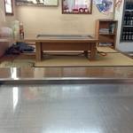 16026993 - お好み焼 石 銀色の鉄板