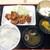やきとり専門 串達 - 料理写真:特製ザンギ定食