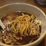 むろや - 黒煮干し麺750円