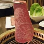 焼肉処 東風 - 焼しゃぶ(2枚) 1,470円