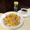 マロ - 料理写真:カルボナーラ(マロ風)・コーヒーセット750円