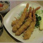 津久井 - 料理写真:海老フライ定食